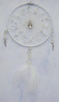 Angel Opalite Dreamcatcher