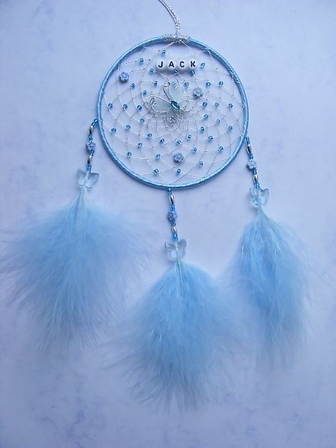 Butterfly Blue Dreamcatcher