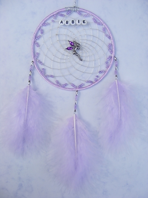 Fairy Lilac Dreamcatcher