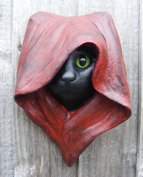 Mystic Cat Wall Plaque