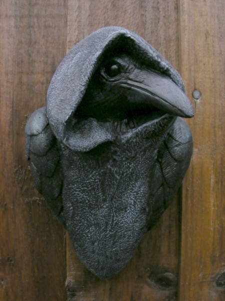 Mystic Crow Wall Plaque